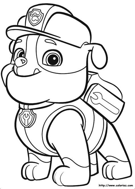 pat patrouille 26 dessins anim 233 s coloriages 224 imprimer