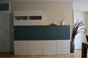Ikea Möbel Weiß : ikea besta schrankwand wei hochglanz petrol matt in stuttgart ikea m bel kaufen und ~ Markanthonyermac.com Haus und Dekorationen