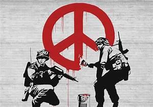Banksy Graffiti Wall Paper Mural | Buy at EuroPosters