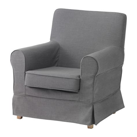 jennylund chair cover nordvalla gray ikea