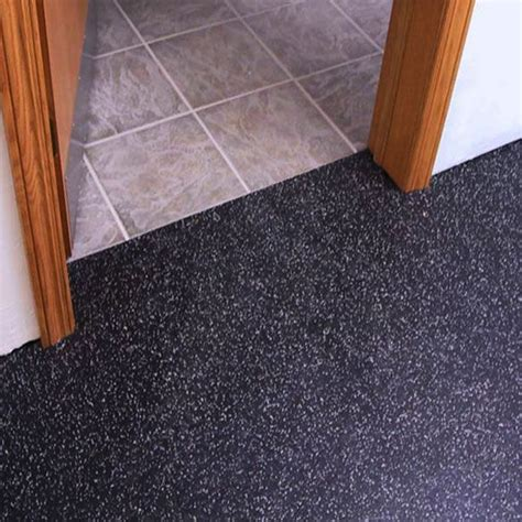 residential rubber flooring tiles and sheets