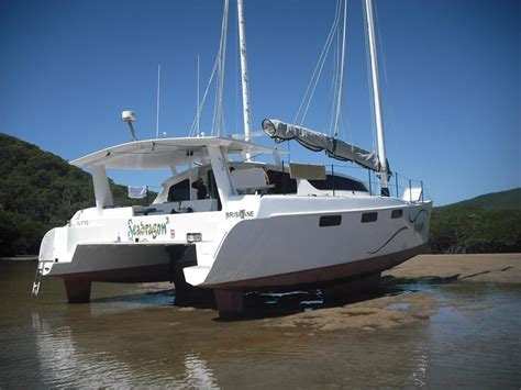 Catamaran 40ft Engine by 2011 Simpson 40 Ft Junk Rig Catamaran For Sale Trade