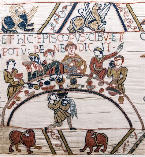 file bayeux tapestry scene43 banquet odo jpg wikimedia commons