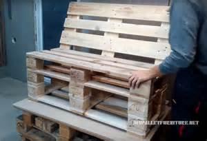 comment faire un canap 233 avec des palettes meuble en palette meuble en palette