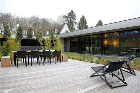 maison contemporaine avec patio hornoy architectes c 244 t 233 maison