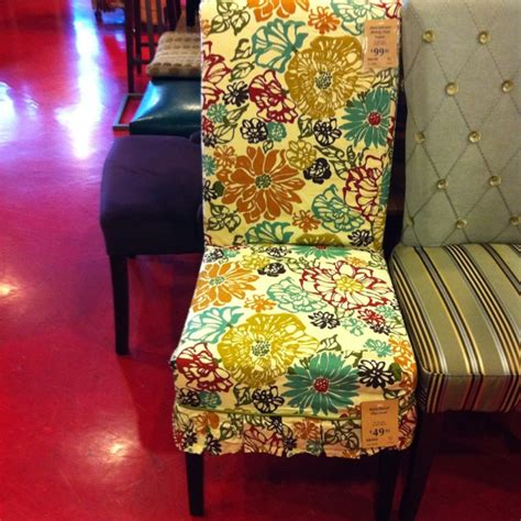 pier 1 floral slipcover and adelaide dining chair the pretty different slipcovers