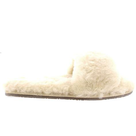 Sheepskin Open by Womens Genuine Australian Sheepskin Mules Open Toe Fur