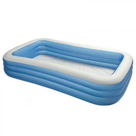 intex cpiscine gonflable familly rectangle cat 233 gorie piscine gonflable
