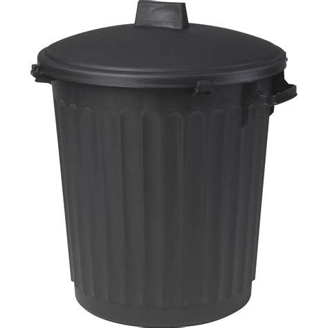 poubelle de rue 80 l h 67 x l 51 x p 51 cm leroy merlin