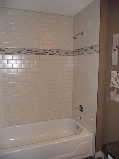 Subway Tile Tub Surround by Main Bathroom White Subway Tile Tub Surround Offset