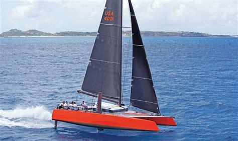 Gunboat Foiling Catamaran sailing and foiling gunboat g4 catamaran sail magazine