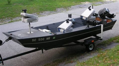 Bass Hunter Boat For Sale In Ohio by Used Jon Boats Myjonboat