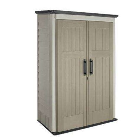 Home Depot Outdoor Storage Cabinets by Rubbermaid Sheds Garages Amp Outdoor Storage Storage