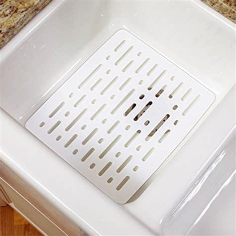 geekshive rubbermaid white sink mat dish racks storage organization kitchen dining