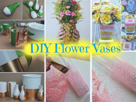 Beautiful Diy Vases To Decorate Your Home