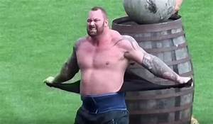 'The Mountain' is World's Strongest Man (Watch) - - Sports ...