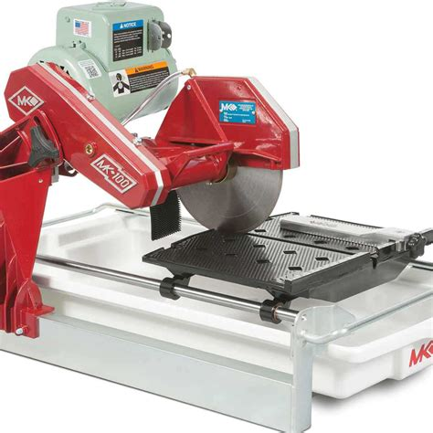 mk 100 tile saw 158189 contractors direct
