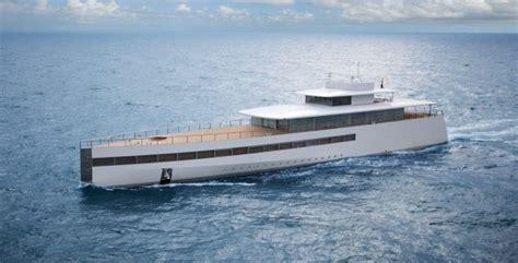 Steve Jobs Boat by Steve Jobs Superyacht Glides Into Palm Beach