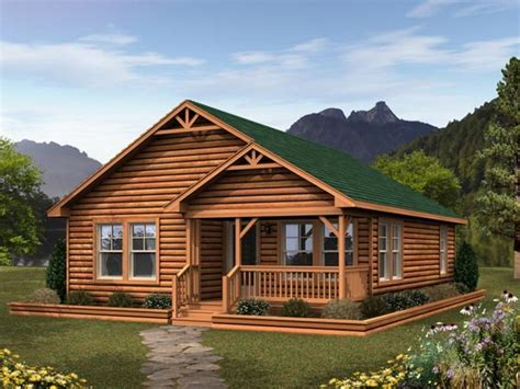 Small Modular Cabins And Cottages Small Log Cabin Modular