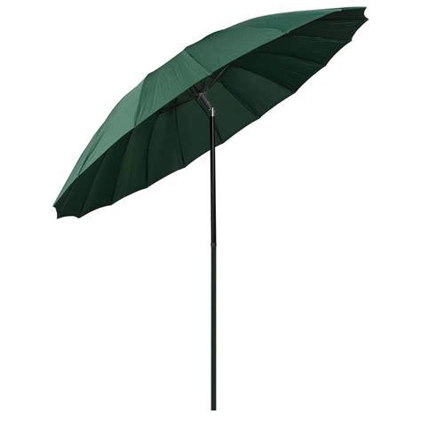 2 5m green tilting garden parasol sun shade canopy umbrella