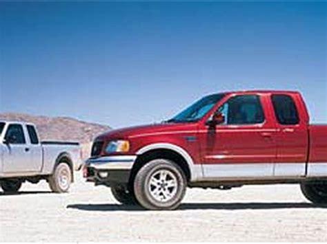 2002 ford f 150 fx4 ford ranger fx4 truck road test truck trend