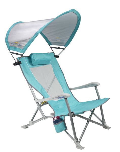 reclining chair with sunshade gci outdoor
