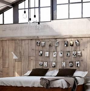 Wand Mit Fotos Dekorieren : coole deko ideen und farbgestaltung f rs schlafzimmer freshouse ~ Markanthonyermac.com Haus und Dekorationen