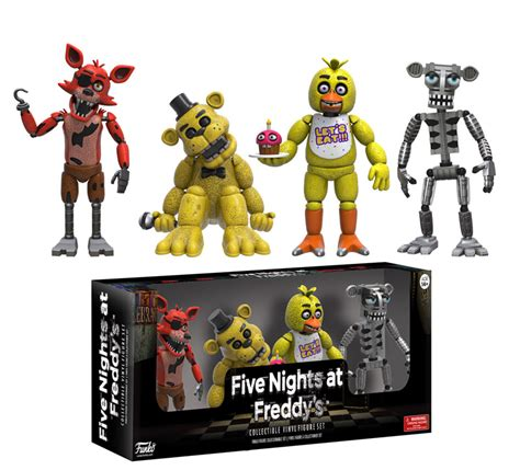 Funko Reveals Five Nights At Freddy's Collectibles   The
