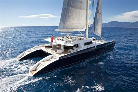 Mega Catamaran Sailing Yachts by Pendennis Hemisphere Largest Luxury Sailing Catamaran In