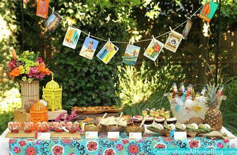 Garden Party Tables Decor Ideas