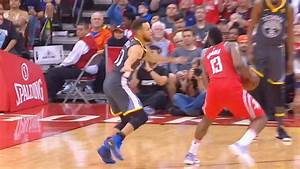 Stephen Curry CROSSED OVER By James Harden Who Hits the ...