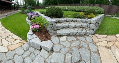 Senderos De Piedra Para Jardines Naturales
