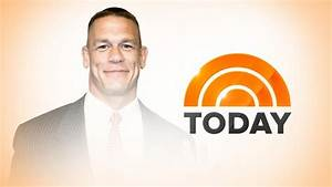 John Cena co-hosts Today Show - Cageside Seats