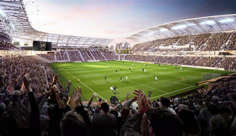 Lafc's Banc Of California Stadium Renderings (photos) Sicom