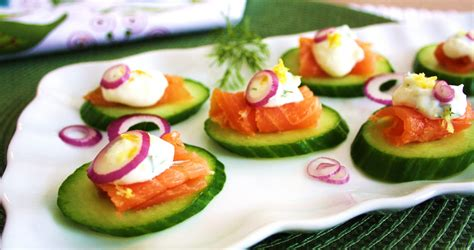 simple and delicious smoked salmon canap 233 s
