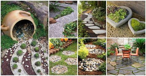15+ Sorprendentes Ideas Para Decoración De Jardín Con Piedras