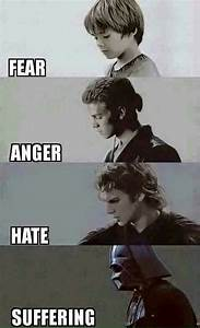 Fear leads to Anger. Anger leads to hate. Hate leads to ...