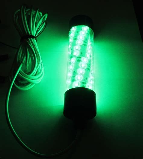 Led Boat Night Lights by 12v Led Green Underwater Submersible Night Fishing Light