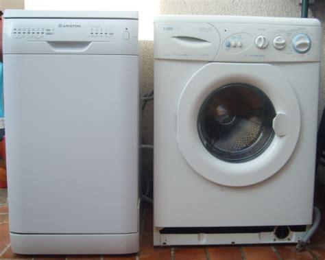 troc echange lave linge vedette lave vaisselle ariston sur troc