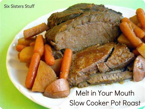 cooker pork pot roast recipe dishmaps