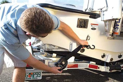 Boat Winch Strap Over Or Under by Trailer Frame Trailering Boatus Magazine