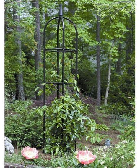 Garden Obelisk Trellis Metal Climbing Plants Flower Vines