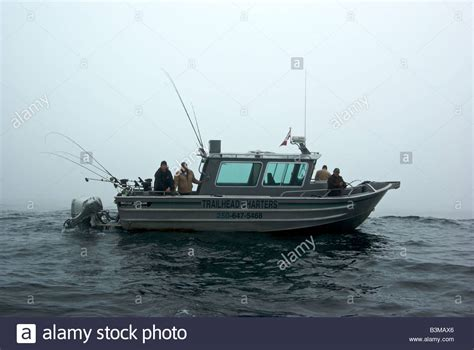 Sport Fishing Boats In Rough Seas by Aluminum Charter Fishing Boat Halibut Drift Fishing In