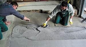 Estrich Im Außenbereich : betonboden sanieren haus dekoration ~ Markanthonyermac.com Haus und Dekorationen