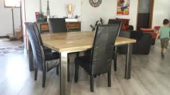 table de salle a manger industrielle 100 images table industrielle achat vente table