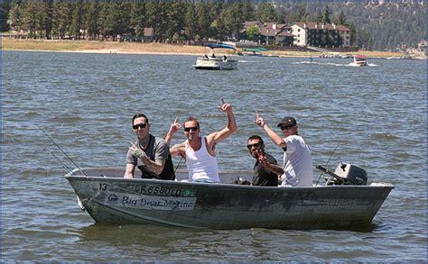 Big Bear Lake Boat Rentals by Big Bear Marina Boat Rentals For Pontoon Fishing