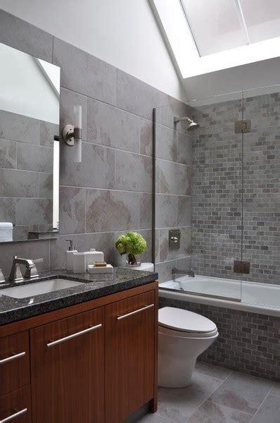 grey tile bathroom ideas home garden design