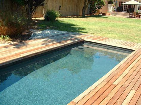 piscines en bois semi enterr 233 es et enterr 233 es installation 187 piscine