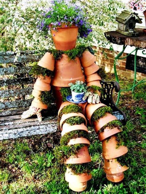 Diy Scarecrow For Garden garden decorations the soothing