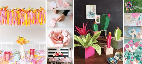 15 Formas Hermosas Y Originales De Decorar Con Papel